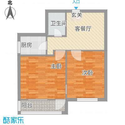 芳城园户型2室