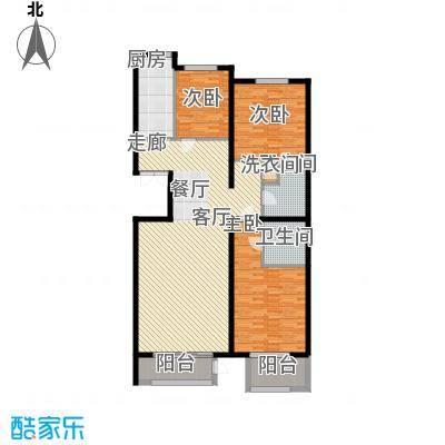 金帅府家园16.00㎡2号楼4号楼03户型3室2厅2卫1厨