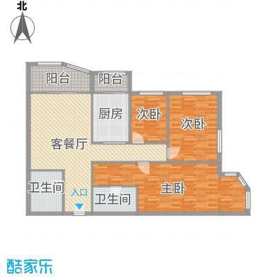 天通苑东三区户型3室