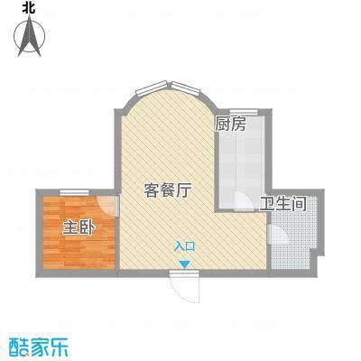 望京花园东区户型1室