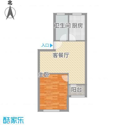 望园东里6.00㎡户型1室