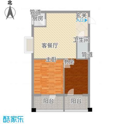 巴克寓所3.00㎡二期摩界N2-1户型1室1厅1卫1厨