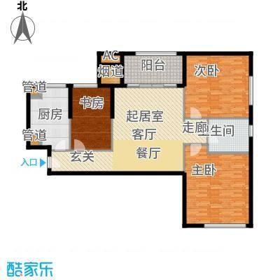 熙悦春天13.20㎡5#-7#楼L1户型3室2厅1厨
