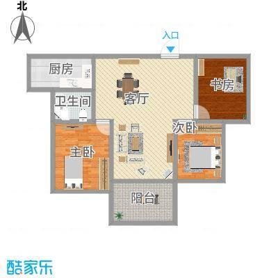 枣庄-中央花城-设计方案