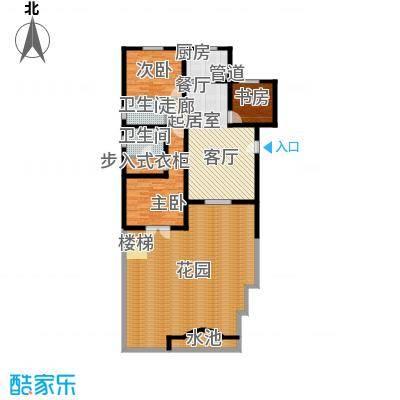 华奥新宁苑165.10㎡C上层户型4室3厅3卫1厨