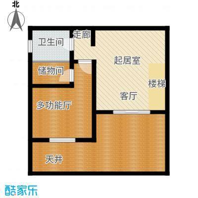 华奥新宁苑165.10㎡C下层户型4室3厅3卫1厨