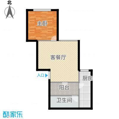 圣馨大地家园67.00㎡户型1室
