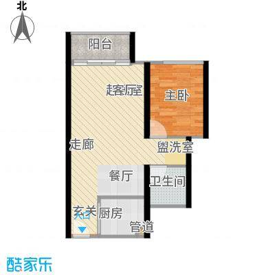 海韵・半岭温泉公寓3户型