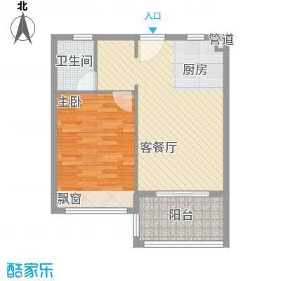 万泉明珠67.44㎡6#楼户型