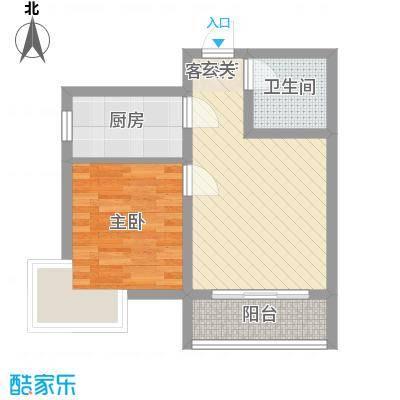 汇泽・蓝海湾D-1户型