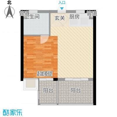 凤凰水城红树湾200908231021231032991511户型2室2厅1卫1厨