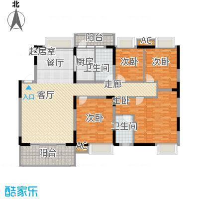 揽海听涛16.28㎡5号楼-01户型4室2厅2卫1厨