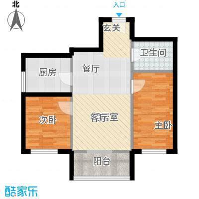 华龙苑南里户型2室