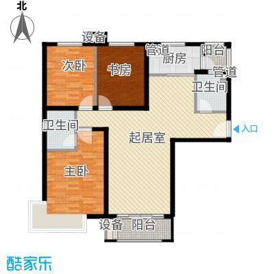 怡水花园三期407、408#楼401-1301户型4室2厅2卫1厨
