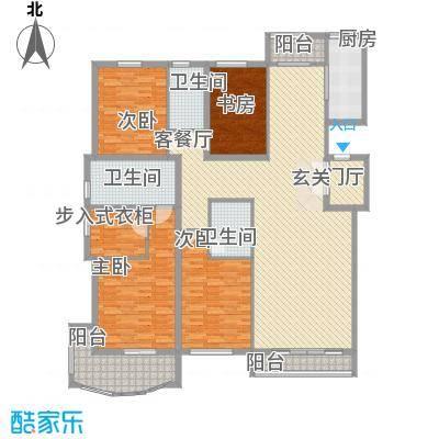 腾达公寓13.80㎡一期1号楼高层1户型3室2厅2卫1厨
