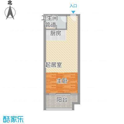 合景・汀澜海岸公寓T2户型