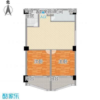 海尚逸品13.00㎡户型