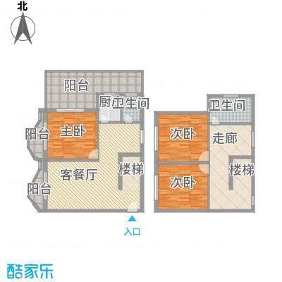 博鳌左岸17.13㎡听涛居A栋8跃层户型3室2厅1卫1厨