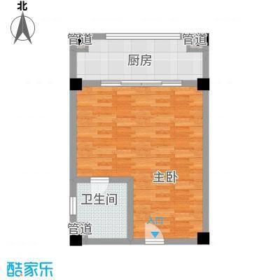美丽春天温泉度假酒店公寓58.24㎡A户型