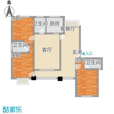 香水原-陵水魅力养生御苑D户型3室2厅3卫