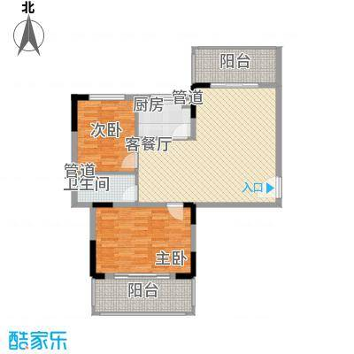 南天・凤凰城12.52㎡1101户型1室1厅1卫1厨