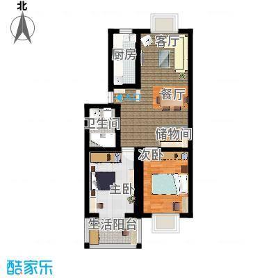天顺园小区两室两厅