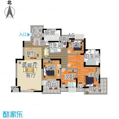 金地格林世界森林公馆175.00㎡上海户面积17500m户型-副本