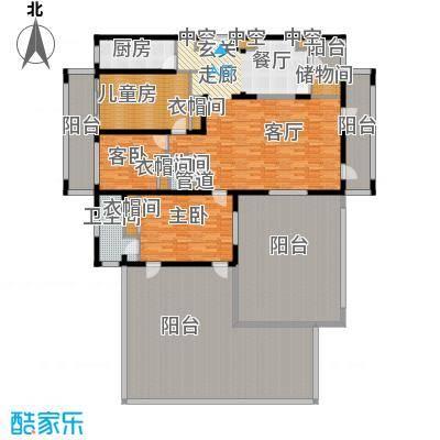 美丽之冠七星酒店20110114165037_conew1户型2室1厅1卫1厨