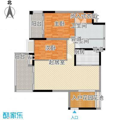 椰海福湾123.23㎡公寓-博海户型2室2厅1卫