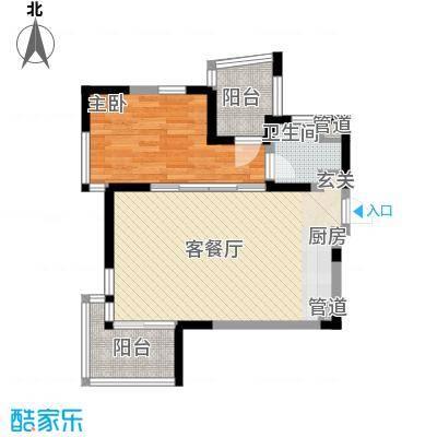 陵水红�香水湾78.80㎡红�香水湾户型