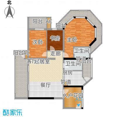 翡翠半岛国际社区88.00㎡户型3室