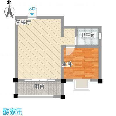 太阳河温泉度假中心B区09、10号户型1室1厅1卫1厨