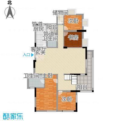 中银苑15.00㎡户型4室