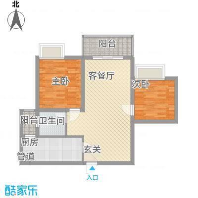 锦绣蓝湾东方户型