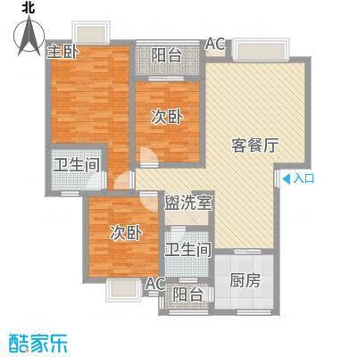 丹桂苑11.00㎡户型