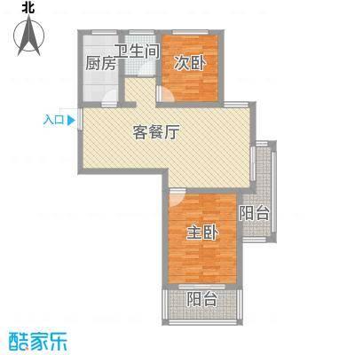 和谐家园G12户型