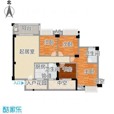 嘉园小区6jpg户型4室2厅1卫1厨