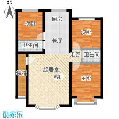 西河花苑118.00㎡L户型3室2厅2卫1厨