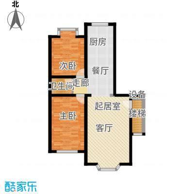 西河花苑5.00㎡G户型2室2厅1卫1厨