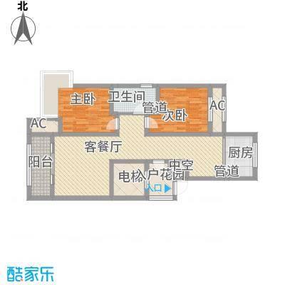 昆河壹号B2户型