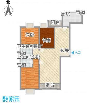 绿海印象12.00㎡一期A3、B3、C6、C9户型3室2厅2卫1厨