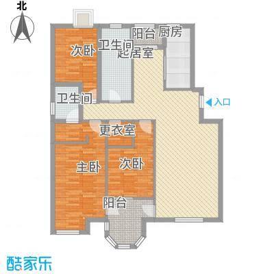 新星壹品御园147.00㎡C户型3室2厅2卫1厨
