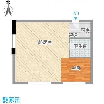 九星国际SOHO领寓2户型