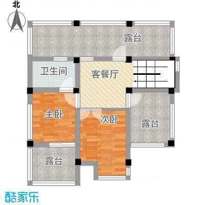 港城壹�B二层平面户型