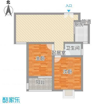 金色家园二期26#小高层中间户J户型