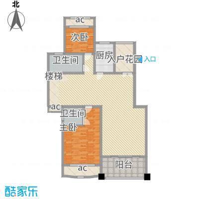 锦绣新天地234.51㎡12#复式下层户型5室2厅4卫