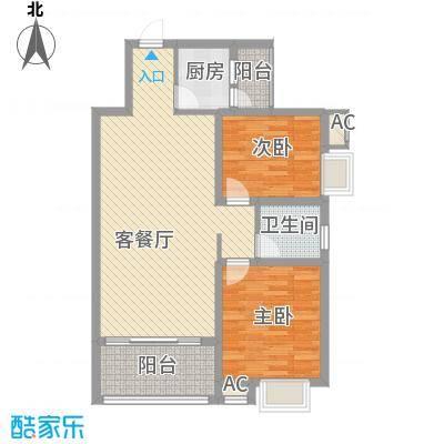 华夏新城5#-8#楼B1户型