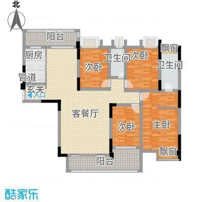 华夏新城5#-8#楼D1户型