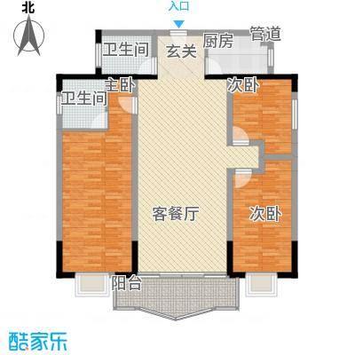 天润滨江苑二户型