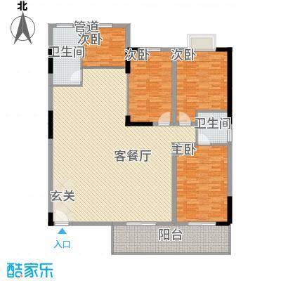 天润滨江苑户型